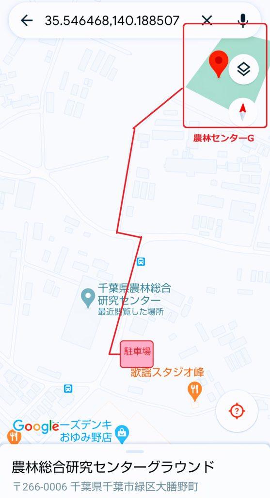 千葉県農林センターG・案内図